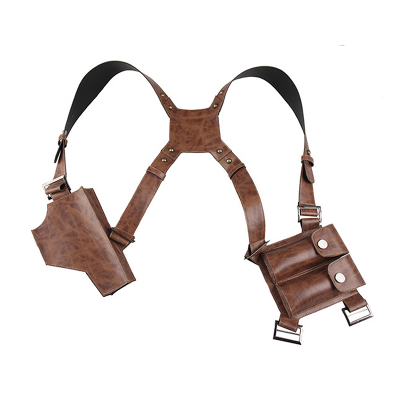 Original Uncharted 4 A Thief's End Nathan Drake Cosplay Holster Props Halloween Accessories