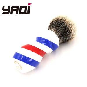 Image 2 - Yaqi New Barber Pole Style 24mm Two Band Badger Knot Shaving Brush