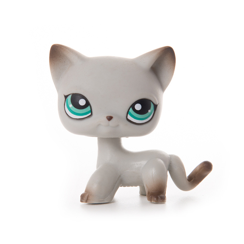 LPS Pet Shop Toys Dolls Short Hair Cat Collection Stand Action Figures High Quality Littlest Model Toys Gifts Cosplay Toys