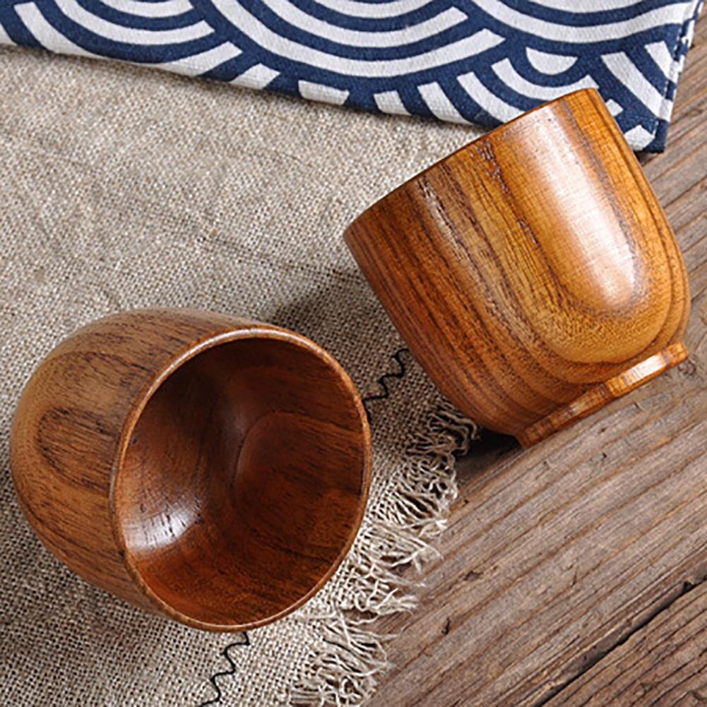 Дикие Унаби деревянный маленькая чашка Кофе чашки Кофе Кубок Главная Кухня Аксессуары Практические чашки