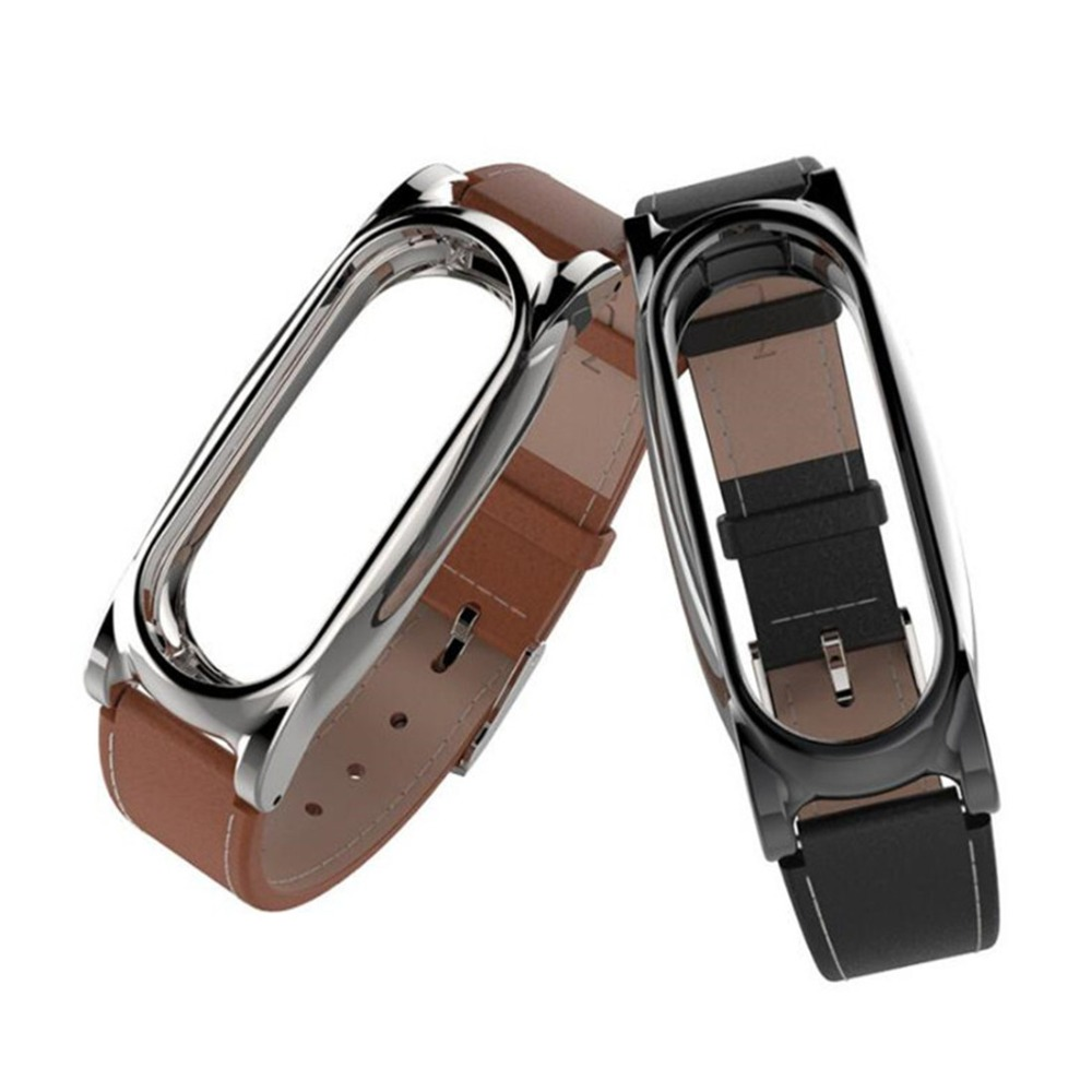 For Xiaomi mi band 2 Leather strap wrist strap for xiaomi mi band 2 wrist strap smart band For watch mi band 2 accessories цена