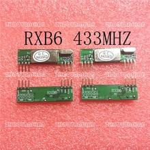 200 Pcs X RXB6 433Mhz Superheterodyne Draadloze Ontvanger Module Gratis Verzending