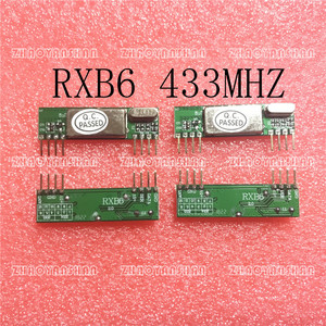 Image 1 - 200 Uds X RXB6 433Mhz módulo receptor inalámbrico superheterodino envío gratis