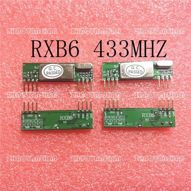 200 Uds X RXB6 433Mhz módulo receptor inalámbrico superheterodino envío gratis