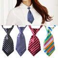 Mujeres Niñas Chico Estudiante de Moda de Satén de Colores Ajustable Corto Pajarita Pajarita Corbata Corbatas Rayas Para El Partido Banquete de Bodas