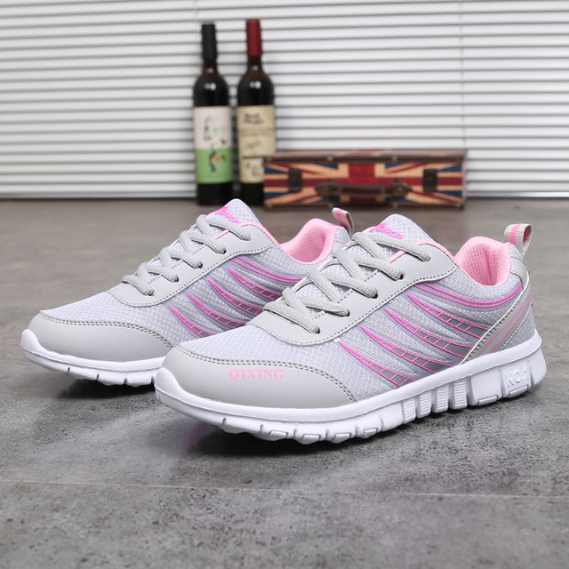 Spring Summer Women Sneakers Sport Running Shoes Breathable Student Outdoor  Breathable Light Run Shoes f51e07a47e9