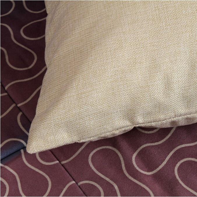 frenchie linen cotton cushion wihtout inner french bulldog animal pillow pattern design decorative throw pillows cojin
