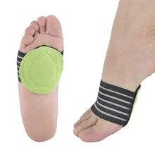 Plantar Fasciitis Heel Aid Feet Cushion Sleeve Pad Flat Arch Support Orthopedic Foot Insole Heel Pain Relief Shock Orthotic 2pcs