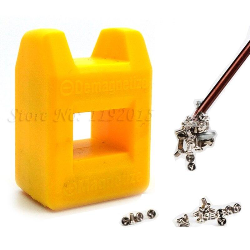 1 Pcs Mini Magnetic Pick Up Repairing Tool Screwdriver Tips Screw Bits Driver Magnetic Repair Tools Magnetize Demagnetize