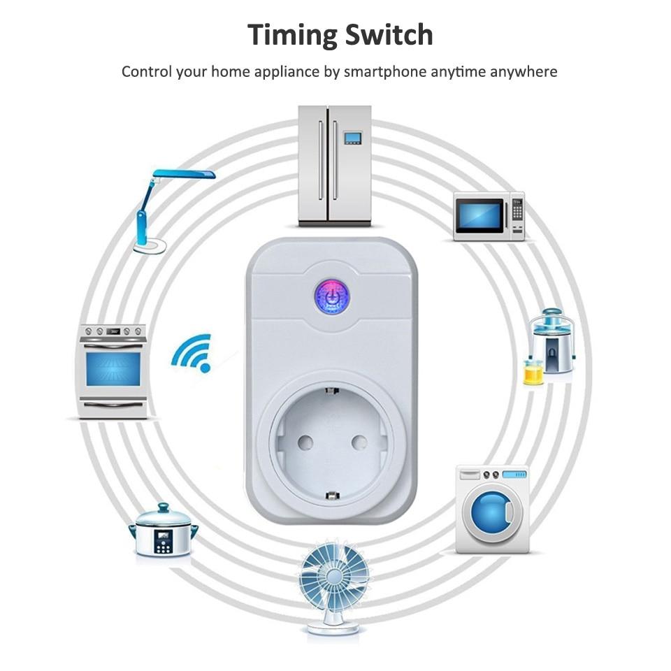 NTONPOWER Wifi Smart Power Socket EU Plug  (16)