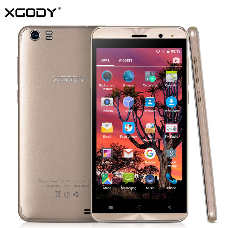 Xgody Smartphone 5 0 Inch 1GB RAM 8GB ROM Android 5 1 Quad Core MT6580 Dual