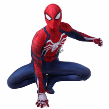 Adult Spiderman Ps4 Costume Game Insomniac Spider Man Suit Children Kids 3D Print Spider-Man Cosplay Clothing