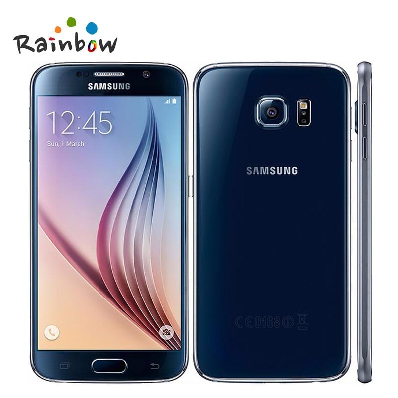 Genuine originale Per Samsung galaxy S6 G9200 G920F GalaxyS6 Octa Core 3 GB di RAM 32 GB ROM 4G LTE 16MP 5.1