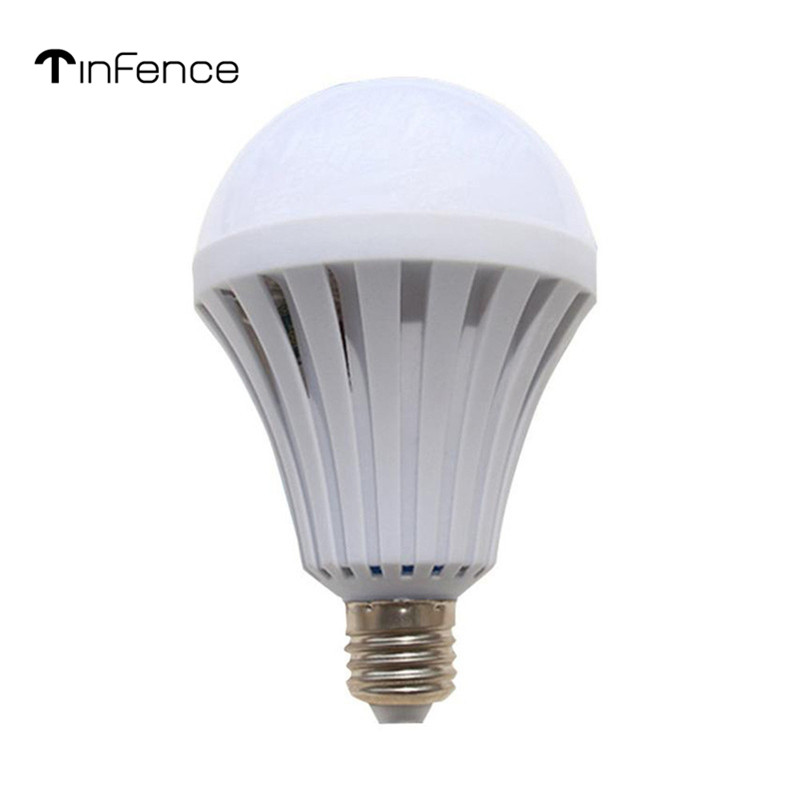New LED 15W Emergency Light Bulb Rechargeable Intelligent Light Energy Saving 1600 Lm Patented Thermal Design