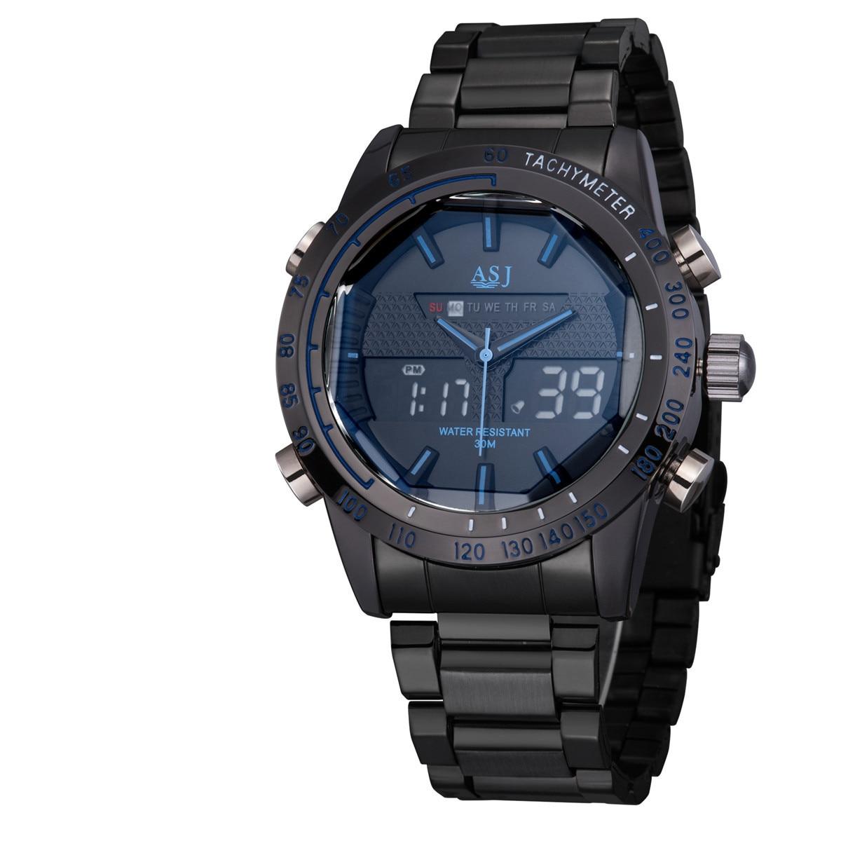 2016 Sports Watches Men Luxury Brand Asj Male Watch Analog