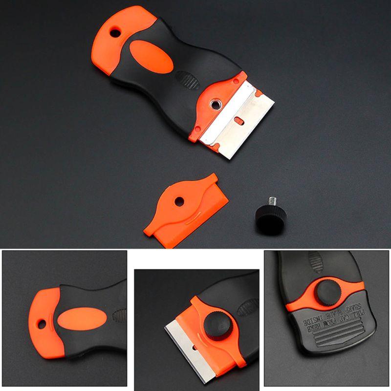 Plastic Handle Razor Scraper Ceramic Glass Oven Window Tinting Tool 1.57