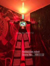 LED Costumes/LED Clothing/Light suits/ LED Robot suits/ Luminous costume/ led lights costumes