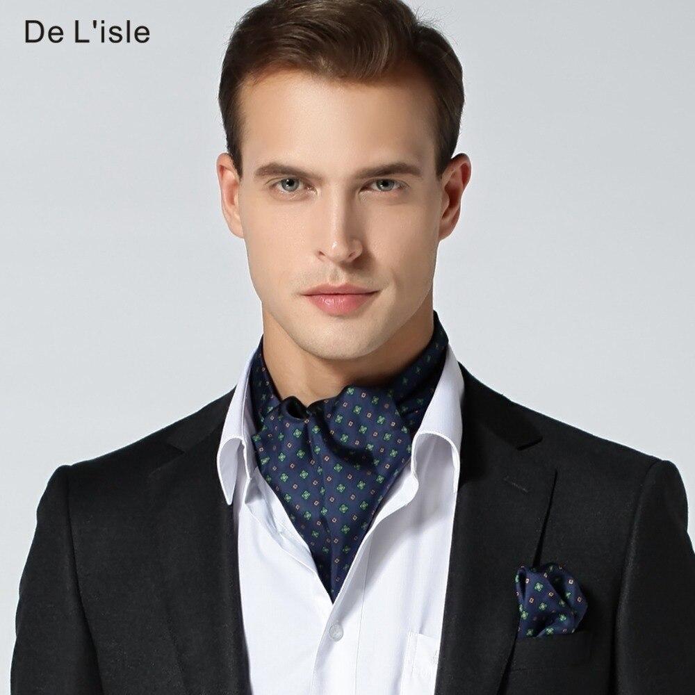 100% Naturel de Soie Hommes Élégant Double face Cravate Écharpe Avec Poche  Carré Mouchoir Dans Cadeau De Luxe Ensemble Pakage dans Echarpes de Mode  Homme et ... f41abb39ecc