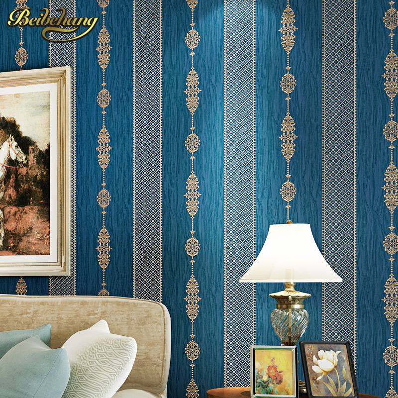 beibehang wall paper. papel de parede 3d wallpaper  Classic gilt vertical stripes three-dimensional non-woven wallpaper simplebeibehang wall paper. papel de parede 3d wallpaper  Classic gilt vertical stripes three-dimensional non-woven wallpaper simple