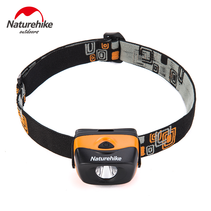 Naturehike Ultralight Outdoor koplamp Waterdicht Camping Wandelen Traveling Multi-gebruik LED Light PK PETZL Tent Accessaries