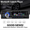 NewBluetooth Car In Dash Stereo Audio USB FM Aux Input Receiver MP3 Radio Player 4 Channel