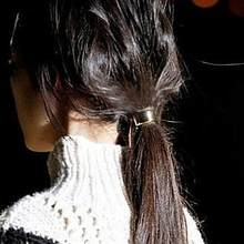 Rubber Band Hair Band Women's Ponytail Holder Fashion Hemicycle Ring Hair Cuff Hairholder Ponytail Holder Elastic Hair Band(China)