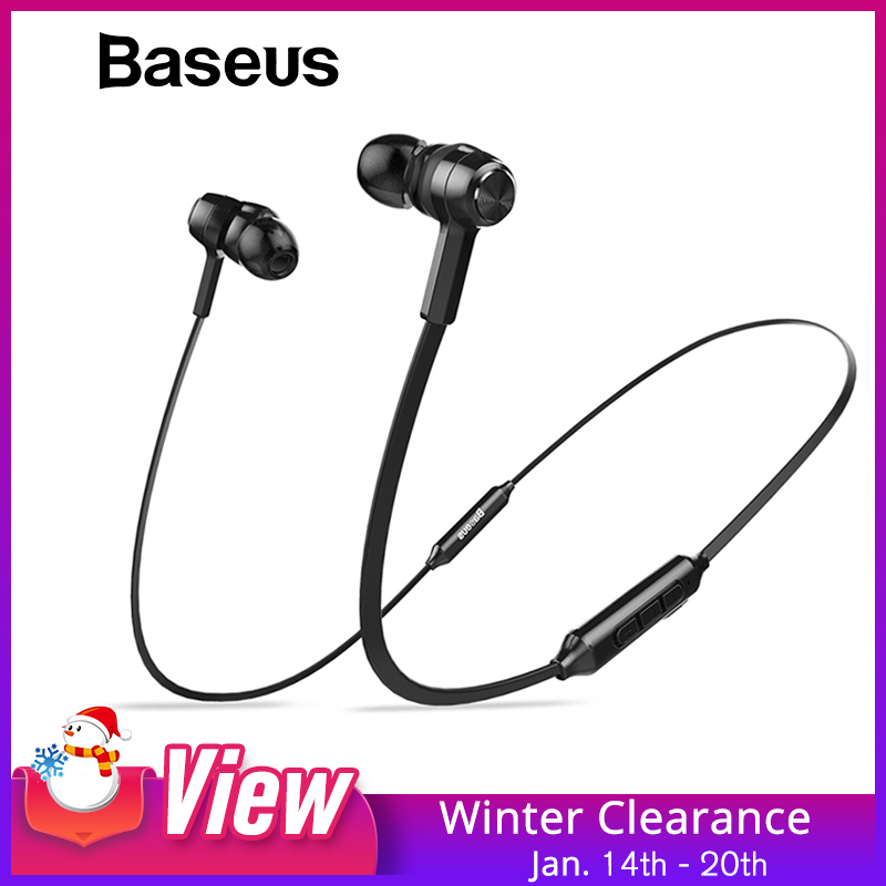Baseus S06 Neckband Bluetooth Earphone Wireless Headphone For Xiaomi Iphone Earbuds Stereo Auriculares Fone De Ouvido With Mic #1
