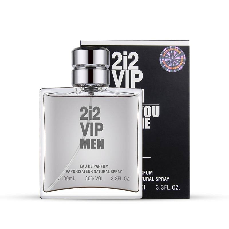 Men's Perfume Masculino With Pheromones Fragrance Fresh Bottle Glass Parfum Eau De Toilette Body Spray M72