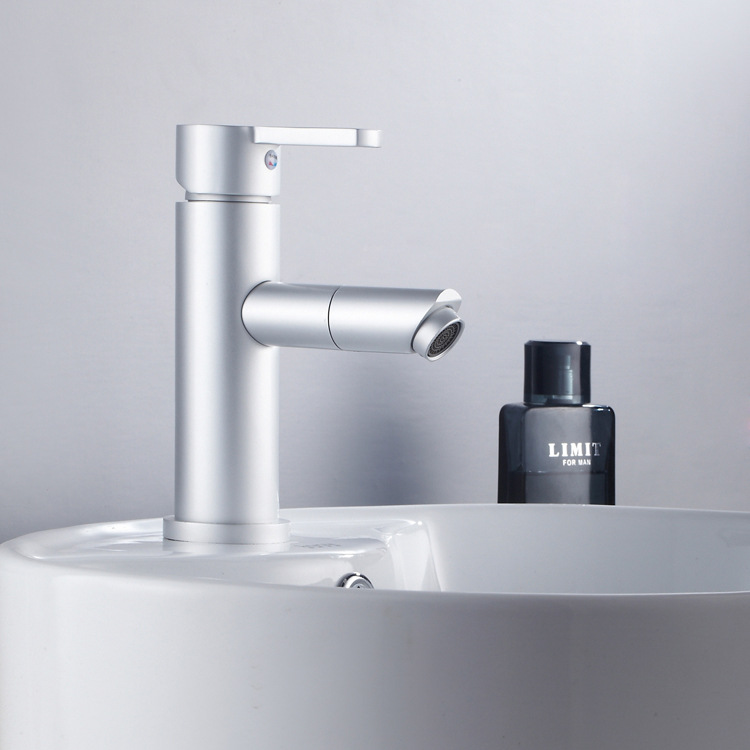Basin Faucets Aluminum Brushed Process Swivel Kitchen Faucet Deck Mounted Hot And Cold Water Single Handle Sink Mixer Tap yanjun us kitchen faucet brushed pull down single handle basin sink deck mounted swivel mixer cold and hot water tap yj 6654