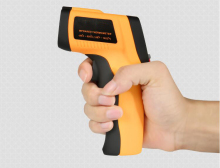 Non-contact Digital Infrared Thermometer IR Pyrometer Water Thermometer -50~360C Industrial High Precision LCD Temperature Gun