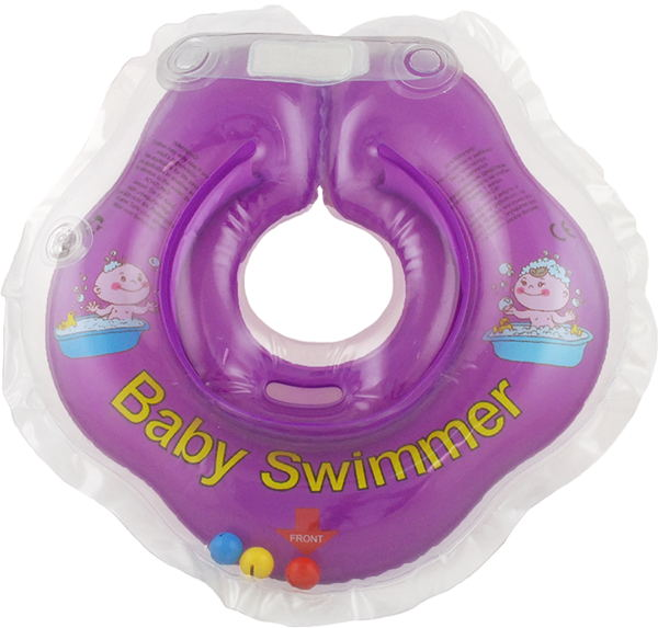Children's neck swimming ring Baby Swimmer BS02F-B inflatable children swimming ring seat pool floating boat