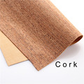 Cork fabric Natural beige cork leather natural Material Kork 60*90cm/23*35inch Cor-42