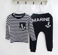 New Spring Autumn Boys Clohes Casual Striped Kids Clothes Long Sleeve Children's Clothing Set Roupas Infantis Menino