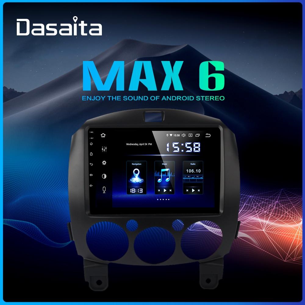 Dasaita 1 din Car Android 9 0 for MAZDA 2 Radio 2010 2011 2012 2013 GPS