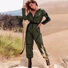 0c8529b7411 MisDream Sexy Women Zipper Sleeve Jumpsuit 2018 Autumn Stripe Patchwork  Jumpsuit Long Pants Workout Jumpsuits Casual