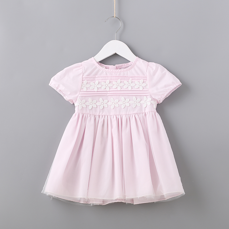 2018 New Summer Cute Toddler Girls Dresses for Princess Floral Short Sleeve Girls Clothing for Party and Wedding for 2 Year Girl summer 2017 new girl dress baby princess dresses flower girls dresses for party and wedding kids children clothing 4 6 8 10 year