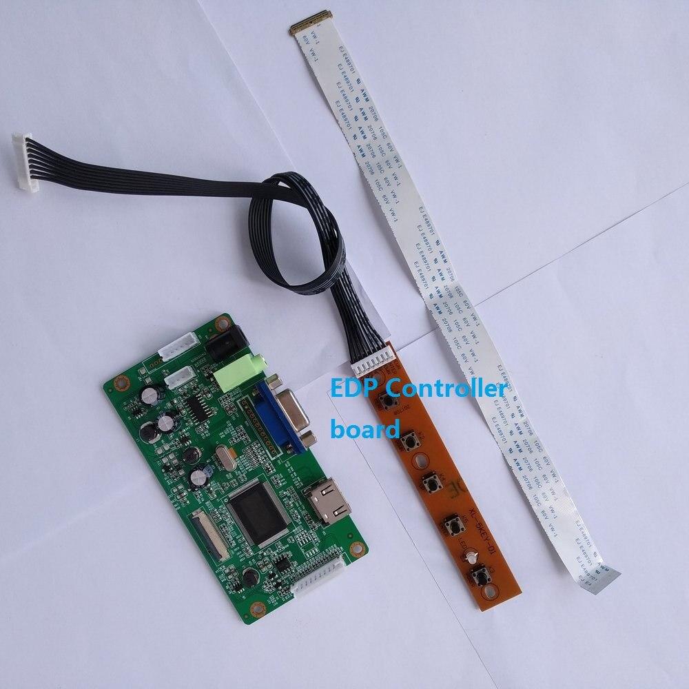 "For B156XTN04.4 LED EDP LCD DIY 30Pin monitor DRIVER 1366X768 Controller board 15.6"" EDP HDMI SCREEN display KIT VGA"