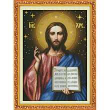 Everlasting love Jesus Chinese cross stitch kits Ecological cotton clear 14 11CT stamped printed DIY wedding decoration for home