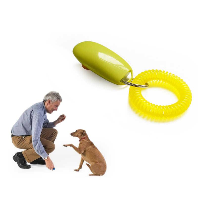 Remoto Universal Portátil Animal Botão Clickers Treinamento Do Cão Trainer Pet Ferramenta de Som Controle de Pulso Banda Acessório New Arrival