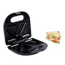 Stainless Steel Triangle Home Sandwich Machine Toaster Sandwich Machine Snack Barbecue Grill Breakfast Machine