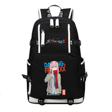 DitF chérie dans le sac à dos de voyage FRANXX ICHIGO MIKU zéro deux Cos femmes sac à dos en toile sacs décole pour adolescentes Bookbag