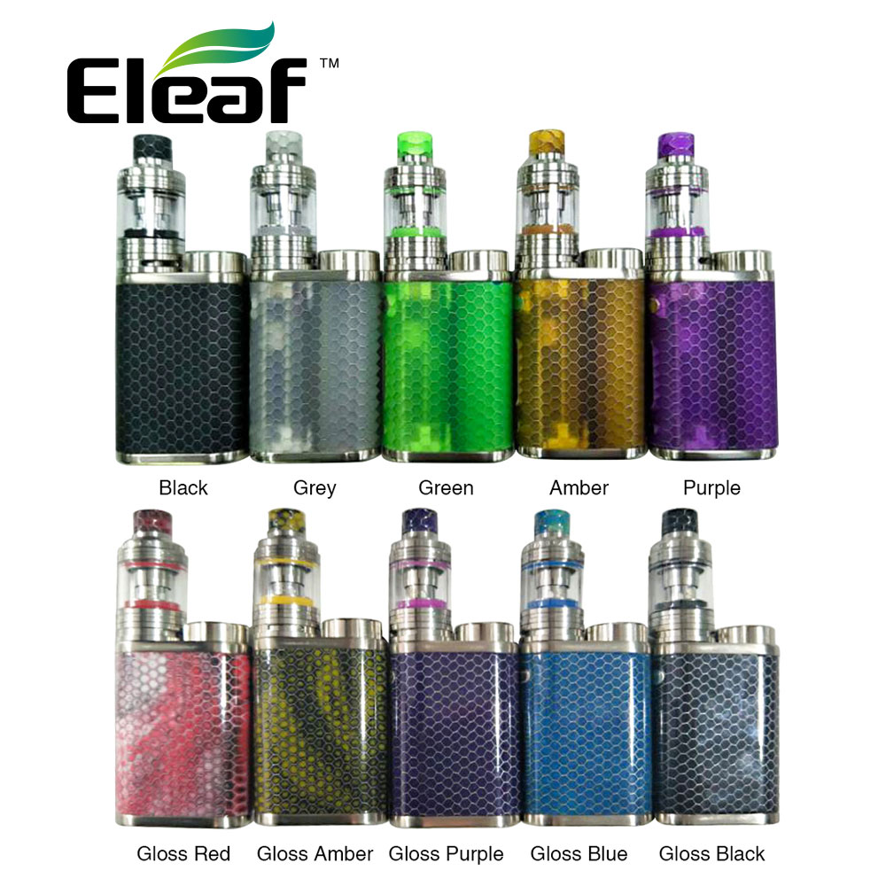 Original Limited Edition Eleaf IStick Pico Resin 75W TC Kit Max Output 75W with 2ml MELO 4 Tank Capacity No 18650 Cell E-cig Kit