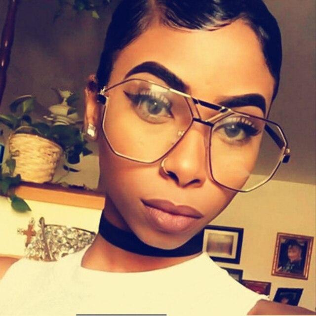 6061b2360c70e Oversize Quadrados Óculos De Sol Da Marca Designer Óculos De Sol Das Mulheres  Sunglassses óculos de