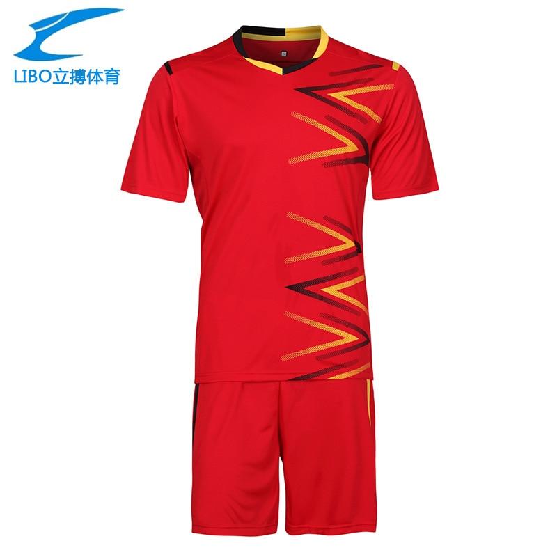 Soccer jerseys jogging football training suit soccer uniform training football shirt spo ...