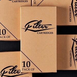 Image 5 - 50 pz/lotto FILTRO Originale Cartuccia Aghi Per Tatuaggio Round Liner #12 0.35 millimetri 1203RL 1205RL 1207RL 1209RL 1211RL per il sistema macchina