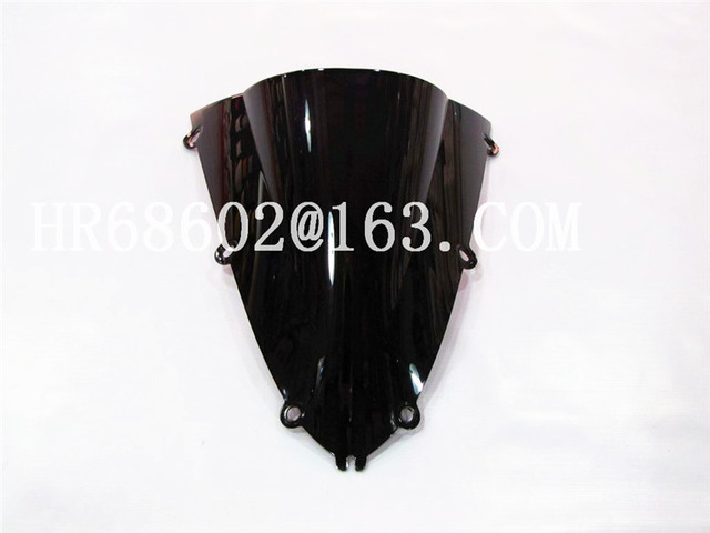 HotSale For Yamaha YZF 1000 R1 1998 1999 black Windshield WindScreen Double Bubble yzf r1 98 99 CC
