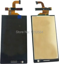 high quality for sony xperia p lt22i lt22 lcd display +touch panel digitizer free shipping