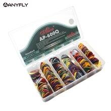 600 قطعة أليس AP 600Q الصوتية الغيتار الكهربائي يختار ماتي ABS عدم الانزلاق Plectrum يختار متنوعة اللون وسمك بالجملة