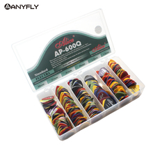 600pcs Alice AP 600Q Acoustic Electric Guitar Picks Matte ABS Antiskid Plectrum Picks Assorted Color and Thickness Wholesale