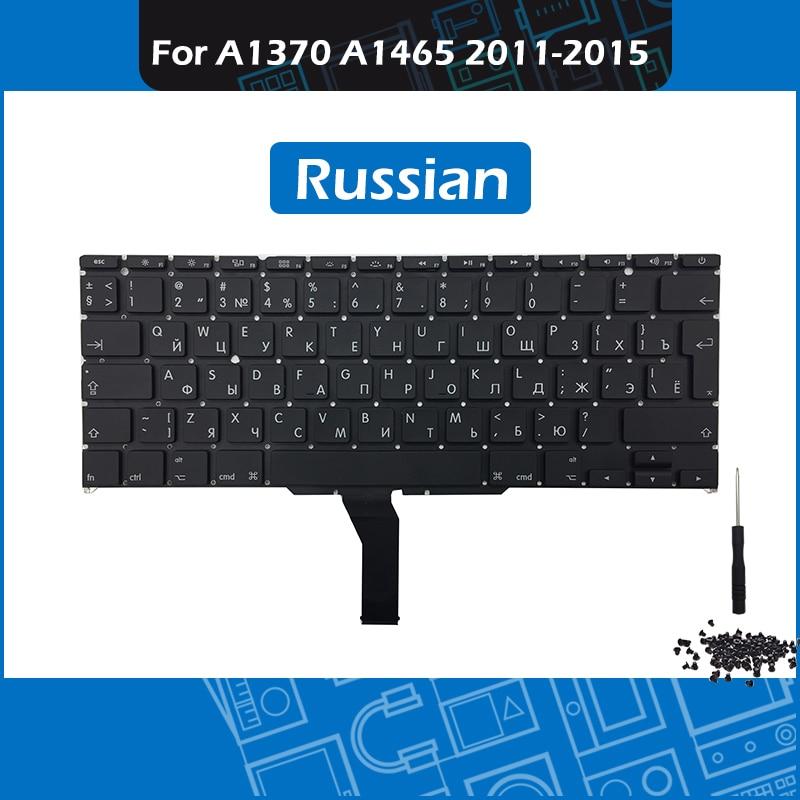 Laptop Replacement Keyboard Russian Layout for font b Macbook b font Air 11 A1370 A1465 RU